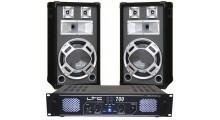 DJ pack 2 x 350W