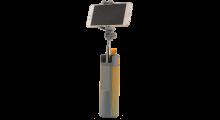 Bluetooth Multifunctionele Luidspreker + Selfie Stick oranje