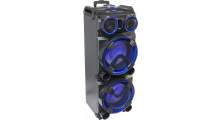 Mobiele DJ BOX 300W met USB, Bluetooth & Micro