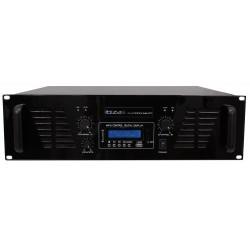 PA Versterker met Lijn ingang, USB & Bluetooth -  2 x 800W