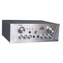 Stereo versterker met Karaoke & USB/SD/MP3