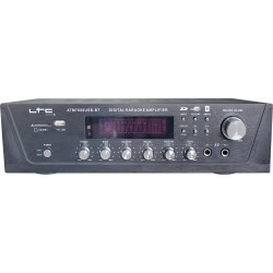 Stereo versterker Digital Tuner, USB,SD/MMC, Karaoke 2x50W