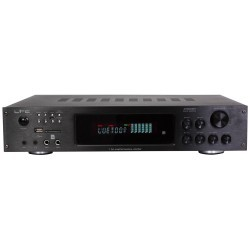 HiFi Stereo versterker Bluetooth/Karaoke  4x75W + 3x20W