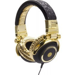 Fashion Headphone DISCO-100 BLACK/GOLD
