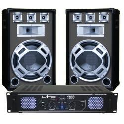 DJ pack 2 x 500W