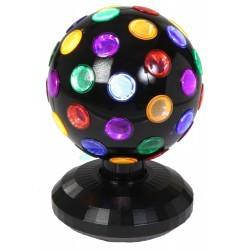 RGB LED Disco Ball - 15cm - Zwart