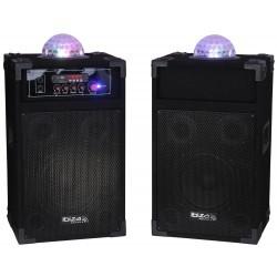 """Actief Luidsprekersysteem 8""""/20cm + Astro lichteffect"""