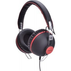 Fashion Headphone HIPSTER-106 BLACK/RED