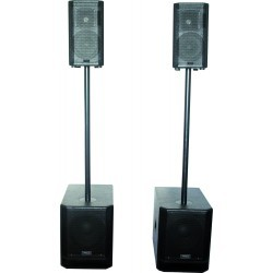 "ACTIVE SYSTEM 2.2 – 2 x 10""/25cm 960W RMS"
