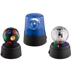 Set van  3 Mini LED licht effecten