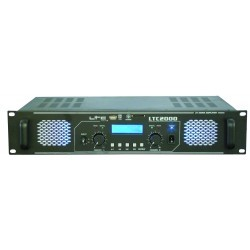 PA Vermogensversterker met  USB/SD/MMC-MP3 - 2 x 1000W