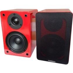 HI-FI Bibliotheek Speakers 60W - rood