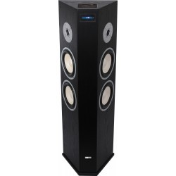 Actieve kolom luidspreker met USB/SD & Bluetooth  - zwart