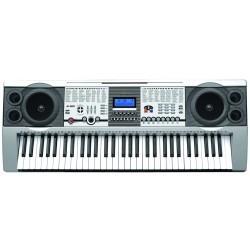 Electronisch toetsenbord met 61 toetsen , USB & steun