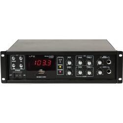80W 100V Versterker met Bluetooth, USB-MP3 & FM Tuner