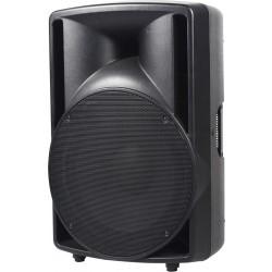 """400W actieve speaker met USB-SD speler, FM en BT, 15"""" woofer"""