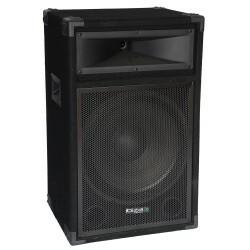 """2-weg Bass Reflex disco luidsprekers 15"""" / 38cm – 400W"""