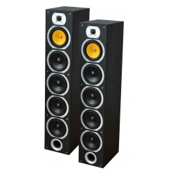 4-weg HiFi Kolom luidsprekers - Zwart