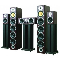 Home Theatre 5.0 speakerset - Zwart  (3 dozen)