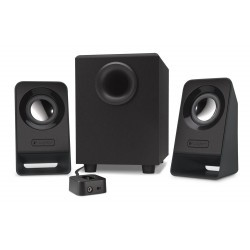 Logitech Z213 subwoofer + 2 speakers