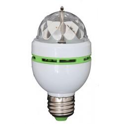 Draaiende micro RGB LED licht effect