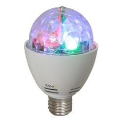 Draaiende Mini RGBA LED lichteffect
