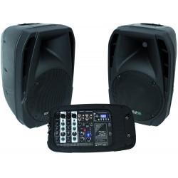 "Compact, Draagbaar geluidsysteem 10""/25cm – 300W"