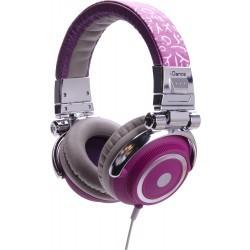 Fashion Headphone DISCO-300 PURPLE/GREY