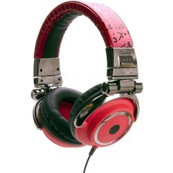 Fashion Headphone DISCO-400 RED/BLACK