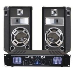 DJ pack 2 x 250W