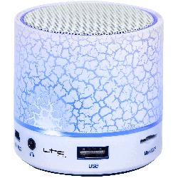 Bluetooth luidspreker met USB, LED, TF ingang & Handsfree ki