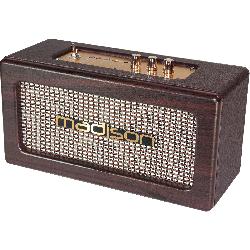 Oplaadbare VINTAGE luidsprekerbox met USB & Bluetooth 2 X10W