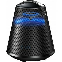 """Led verlichte Bluetooth speaker 6.5""""/16cm  - 100W / Zwart"""