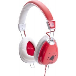 Fashion Headphone FUNKY-200 RED/WHITE/GREY