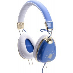 Fashion Headphone FUNKY-400 BLUE/WHITE/GOLD