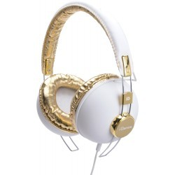 Fashion Headphone HIPSTER-103 WHITE/GOLD