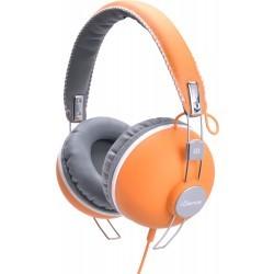 Fashion Headphone HIPSTER-104 ORANGE/GREY