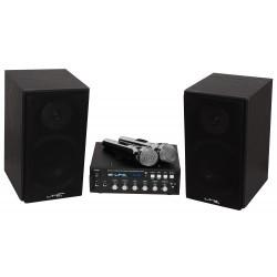 All-in-1 Karaoke set met Bluetooth  en USB 2 x 75W (B-Keus)