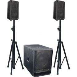 ACTIVE 2.1 SPEAKER SYSTEM 750W
