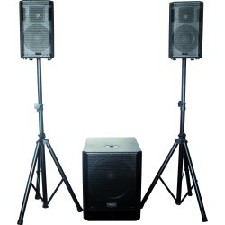 "ACTIVE SYSTEM 2.1 – 12""/30cm 660W RMS"