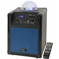 Mobiele Luidsprekerbox met RGB LED ASTRO effect - Blauw