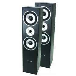 3-weg HiFi Bass Reflex luidsprekers 350W - Zwart