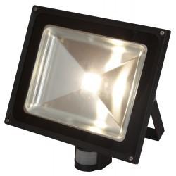 LED Buiten verstraler met bewegingssensor - 50W Neutraal Wit