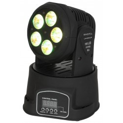 6-IN-1 LED moving head RGBWA+UV