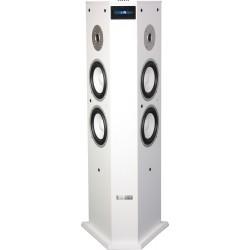 Actieve kolom luidspreker met USB/SD & Bluetooth  - wit