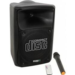 150W Draagbaar PA systeem met USB, Bluetooth, microfoon