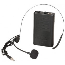 Headset voor NOMAD UHF systemen