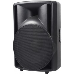 """360W actieve speaker met USB-SD speler, FM en BT, 12"""" woofer"""
