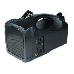 40W draagbare draadloze PA, VHF, BT, headset-mic, body-pack
