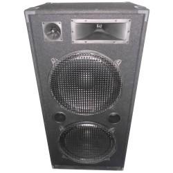 """3-weg Disco column speakers 2 x 15""""/38cm - 1000W"""